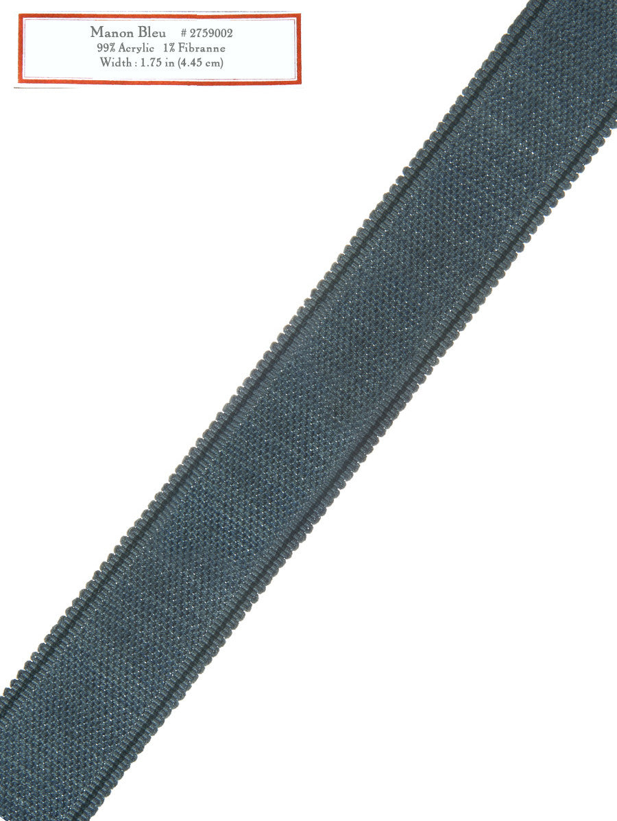 Home Decorative Trim - Manon Bleu