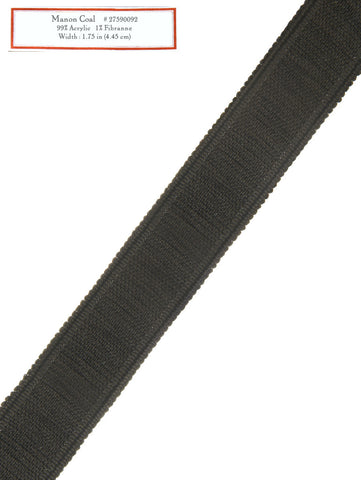 Home Decorative Trim - Manon Coal