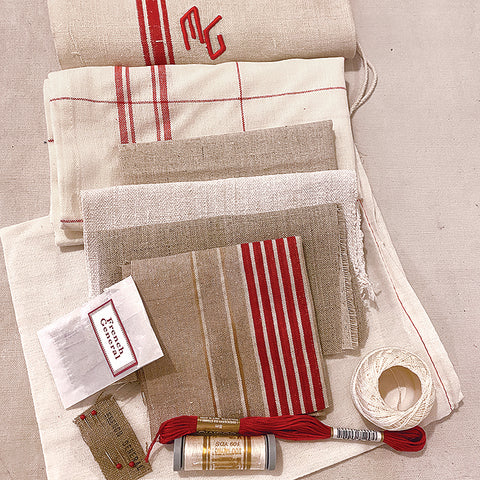 Live Zoom Workshop: The French Tea Towel Apron with Melissa Fitzpatrick / Saturday, April 17th / 10-12pm PST