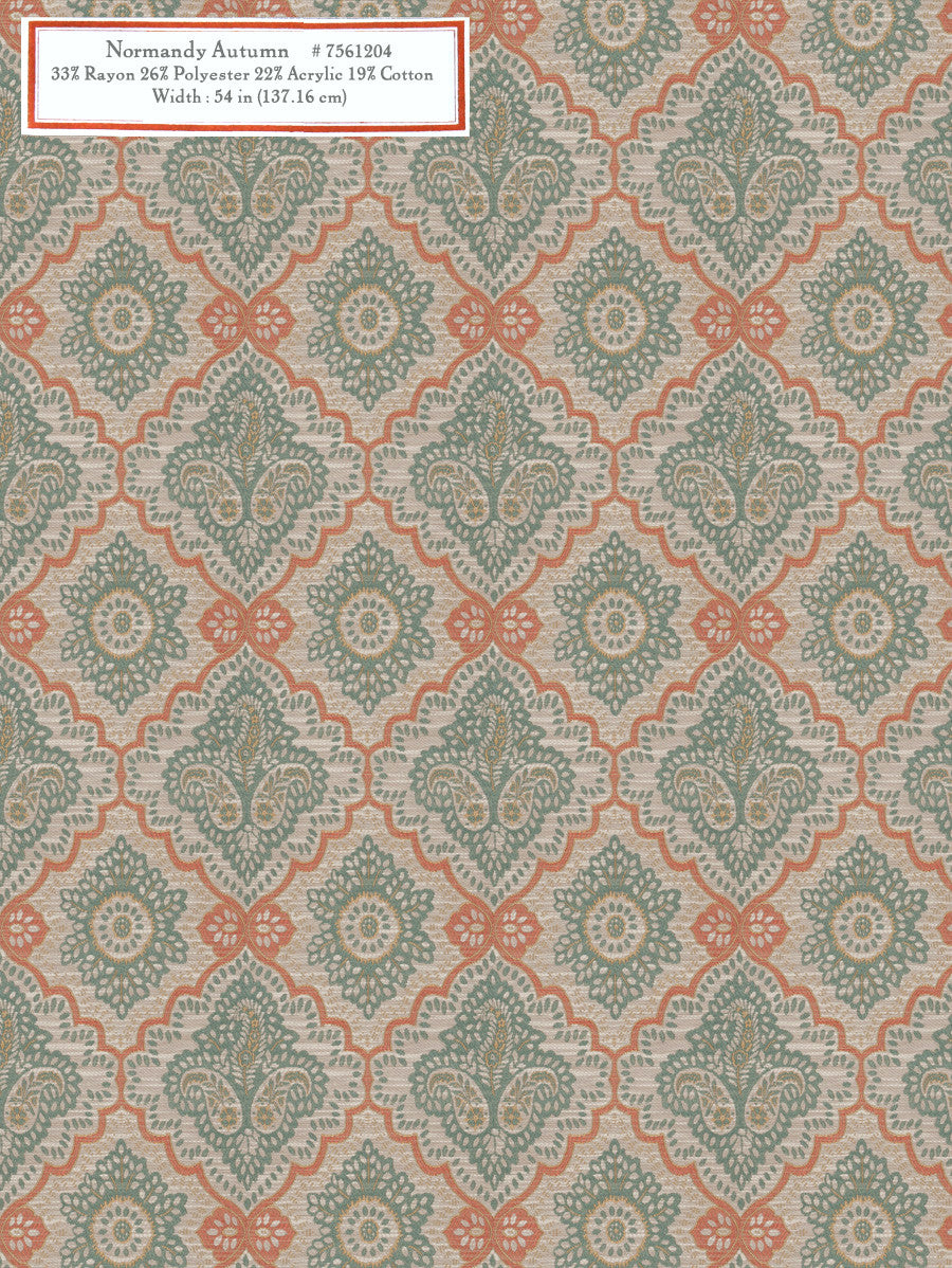 Home Decorative Fabric - Normandy Autumn
