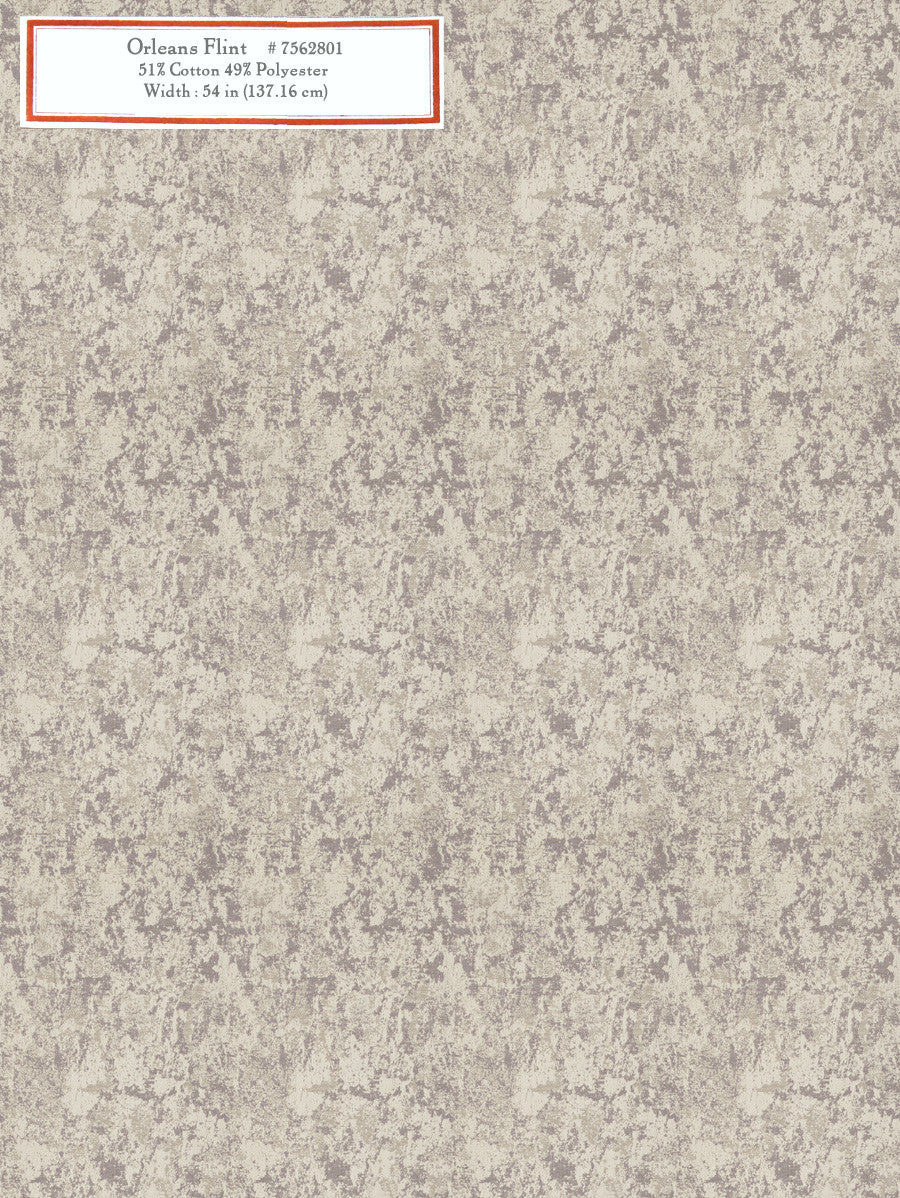 Home Decorative Fabric - Orleans Flint