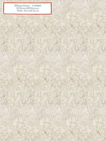 Home Decorative Fabric - Orleans Linen