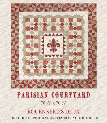 Parisian Courtyard Quilt Pattern