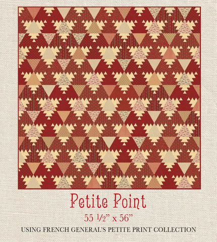 Petite Prints - Petite Point Quilt Pattern