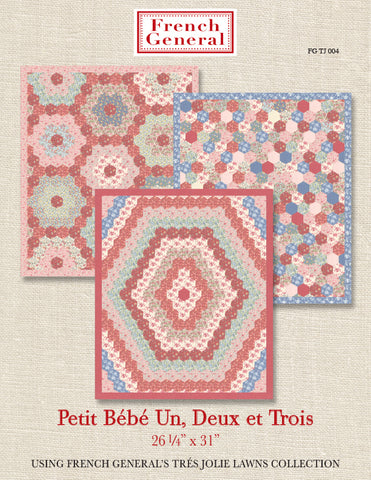 Tres Jolie Petite Bebe Quilt Pattern Instructions