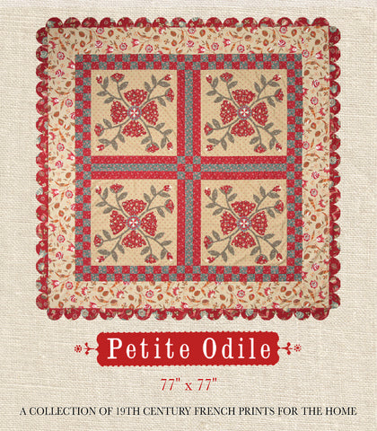 Petite Odile Quilt Pattern