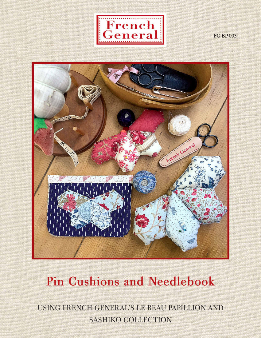 Pin Cushions and Needlebook Pattern