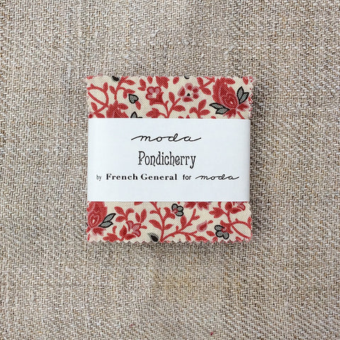 Moda French General Pondicherry Mini Charm Pack