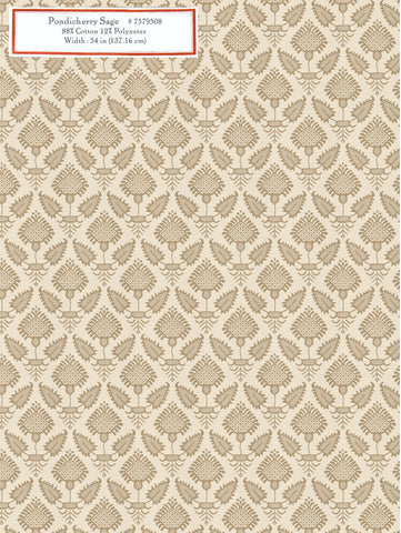 Home Decorative Fabric - Pondicherry Sage