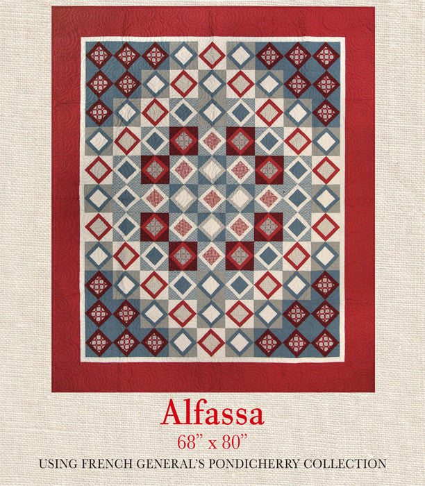 Pondicherry - Alfassa Quilt Pattern
