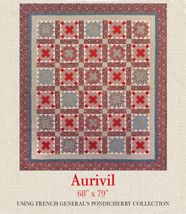 Pondicherry - Arivil Quilt Pattern