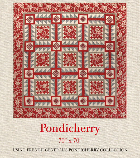 Pondicherry Pondicherry Quilt Pattern French General