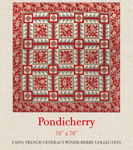 Pondicherry - Pondicherry Quilt Pattern