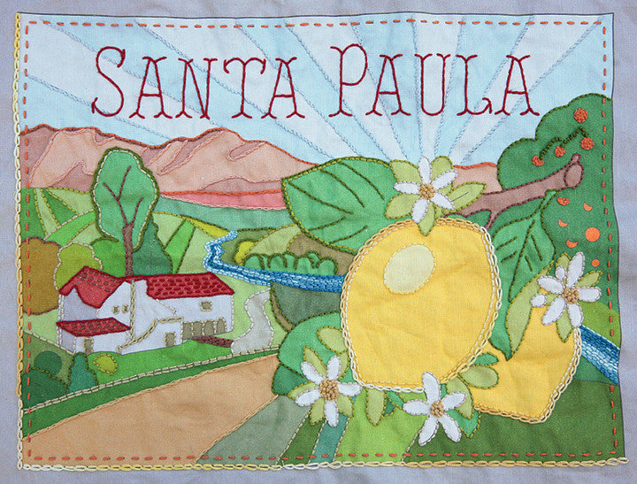 Santa Paula Embroidery Sampler