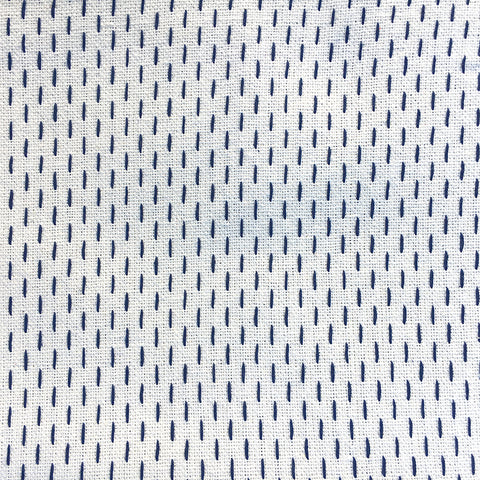 French Sashiko Pearl with Indigo PRE-ORDER