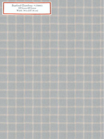 Home Decorative Fabric - Septfond Chambray