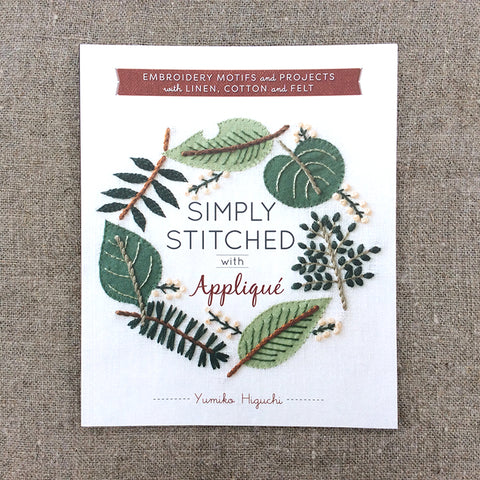 Simply Stitched with Applique by Yumika Higuchi