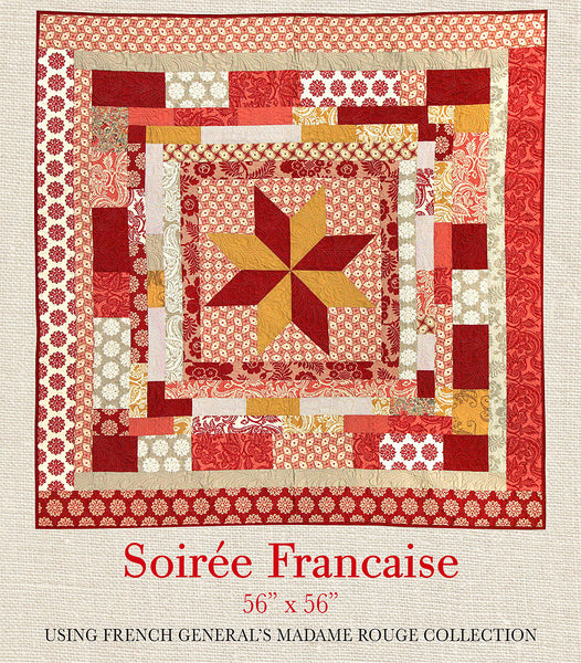 Madame Rouge Soiree Francaise Quilt Pattern French General