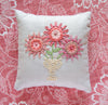 Spiderweb Flower Embroidery Kit