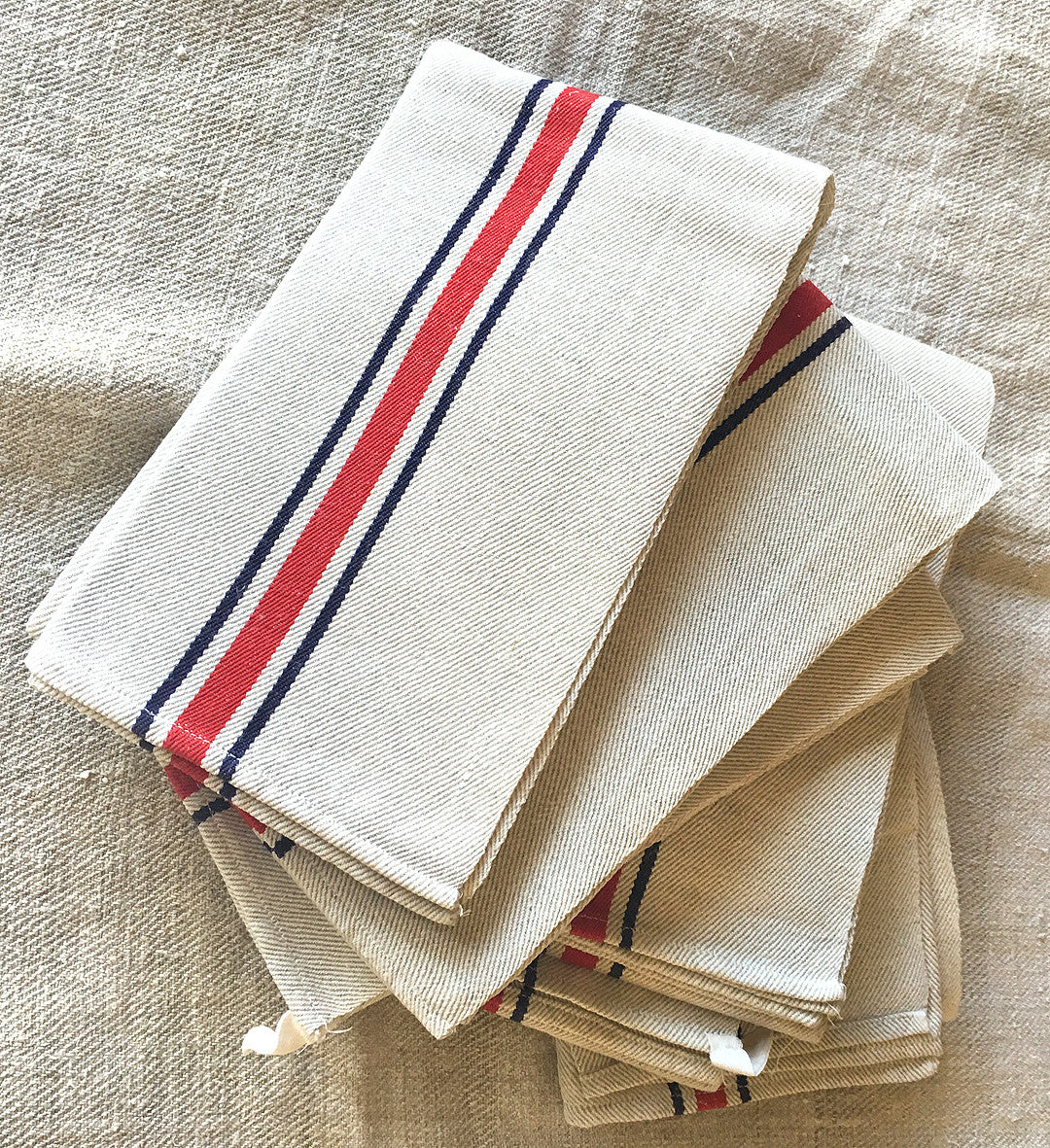 Vintage Basque Tea Towel