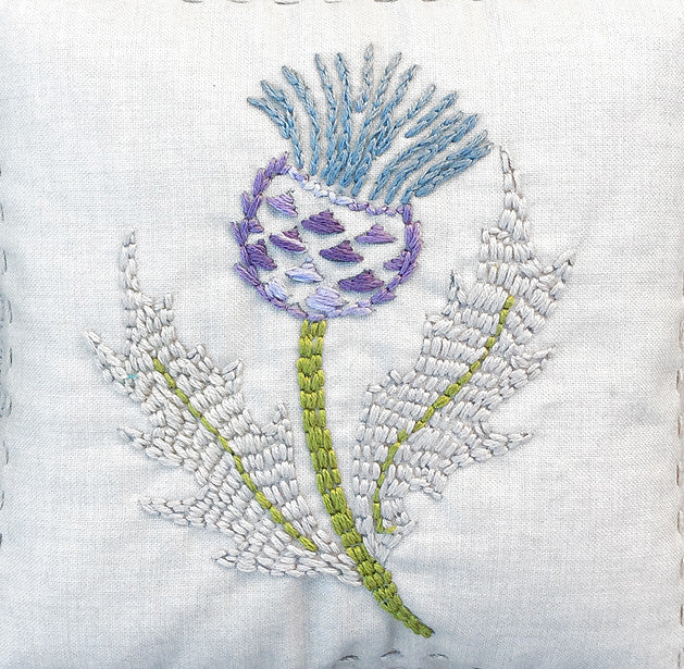 Thistle Embroidery Sampler French General