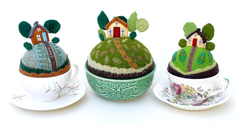 Tiny World Pincushion  / Sunday, April 23rd 10-4pm SOLD OUT