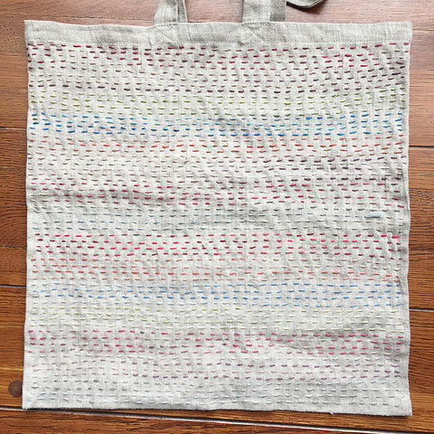 Variegated Sashiko Tote Kit