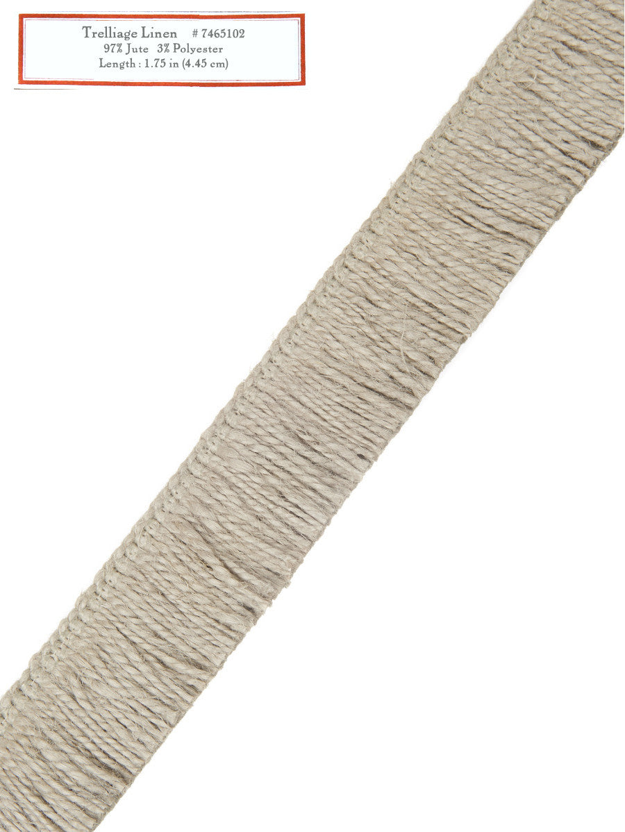 Home Decorative Trim - Trelliage Linen