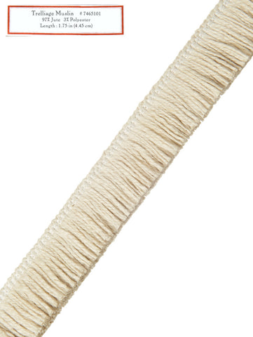 Home Decorative Trim - Trelliage Muslin