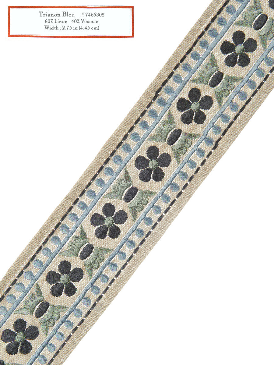 Home Decorative Trim - Trianon Bleu