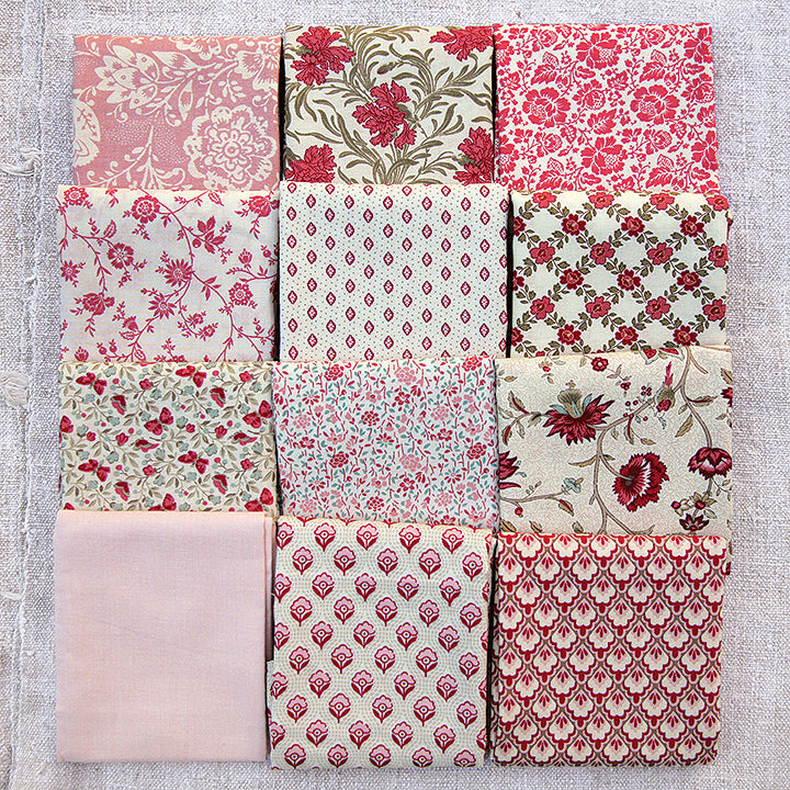 Valentine 12 Favorite Fat Quarters