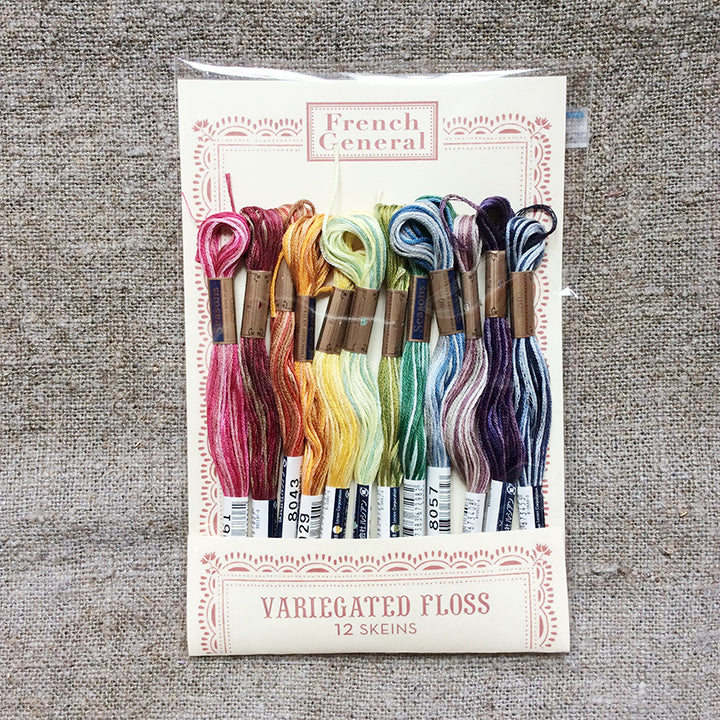 Embroidery Floss - Variegated Color