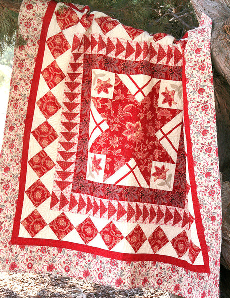 Ville Fleurie Botanique Quilt Pattern French General