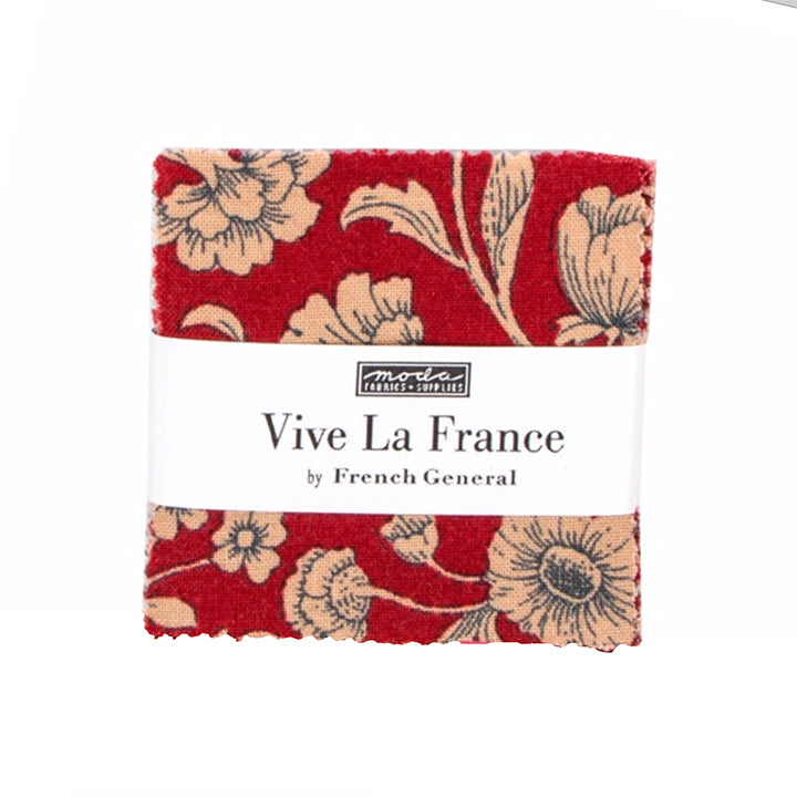 Moda French General Vive La France Mini Charm Pack