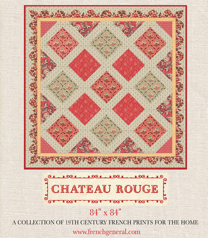 Chateau Rouge Quilt Pattern