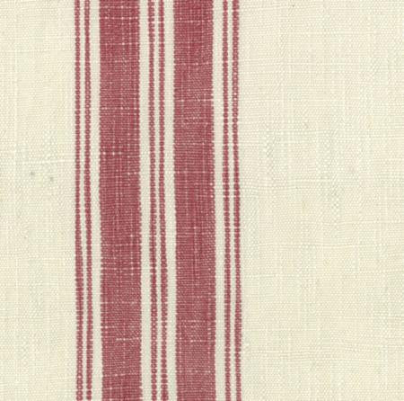 Linen Red Striped Toweling