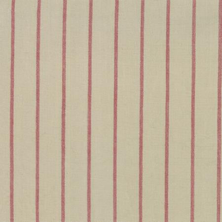 Cotton Red Striped Toweling