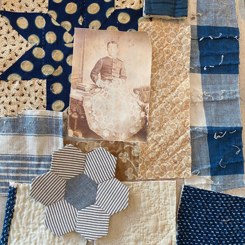 The Quilted Fragment Stitch Kit and Virtual Workshop