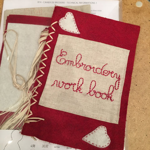 Embroidery Sampler Work Book PRE-ORDER