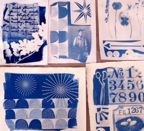 Creative Cyanotype / Sunday, September 10th / 11-3pm