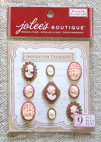 Jolees Boutique - Dimensional Stickers/Resin Cameos