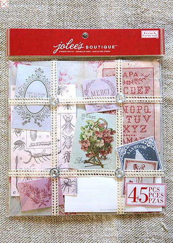 Jolees Boutique - Ephemera Kit/Floral