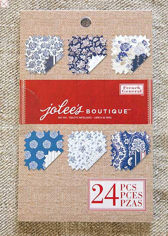 Jolees Boutique - Paper Pad/Blue