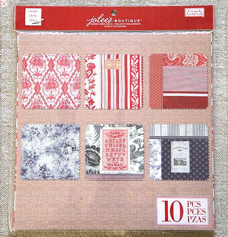 Jolees Boutique - Adhesive Fabric Sheets