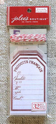 Jolees Boutique - Tags/French Red