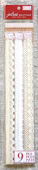 Jolees Boutique - Adhesive Borders/Lace