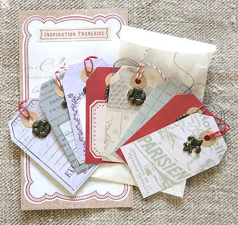 Jolees Boutique - Tags with Embellishment