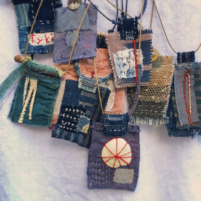 Textile Talisman Workshop with Ann Wood / Tuesday, October 16th / 5-8pm