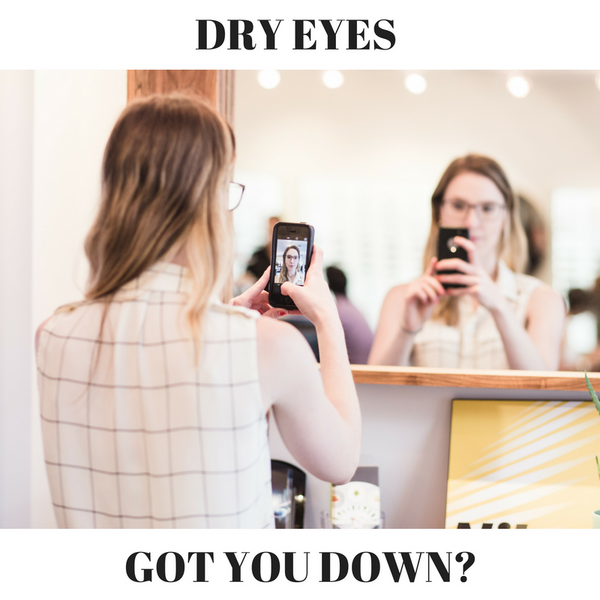 Dry Eyes? Drop the Visine and Visit your Eye Doc!