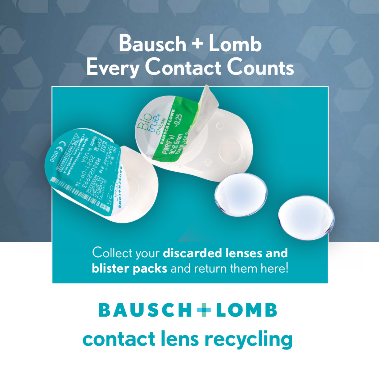 Contact Lens Recycling in Ottawa!